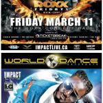 IMPACT LIVE Kicks-Off The HOTT ROXX Concert Series With THREE DAYS GRACE Plus The Launch Of World Dance Saturdays Featuring T-PAIN!