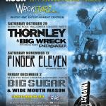 IMPACT LIVE Expands Into Durham Region With THORNLEY, BIG WRECK, FINGER ELEVEN, BIG SUGAR & WIDE MOUTH MASON 2011 Concert Series At The New WROKSTARZ In The Whitby AMC Entertainment Centrum