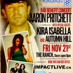 AARON PRITCHETT Triple Bill R4R Benefit Concert!