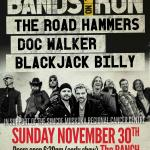 BANDS ON THE RUN Triple Bill R4R Benefit Concert!