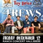 THE TREWS Rock95-Koolfm Toy Drive Concert Helping To Give Kids A Christmas!