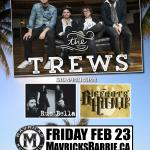 THE TREWS Winter Meltdown Concert Party!