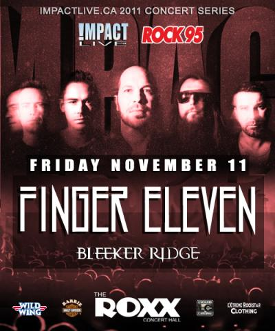 FINGER 11 & Bleeker Ridge Live At The Roxx