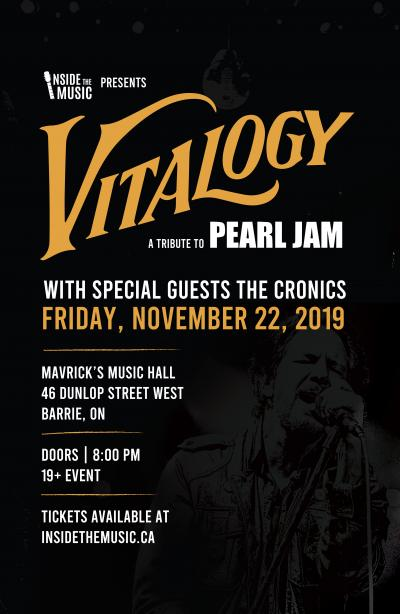 VITALOGY, A Tribute To PEARL JAM!