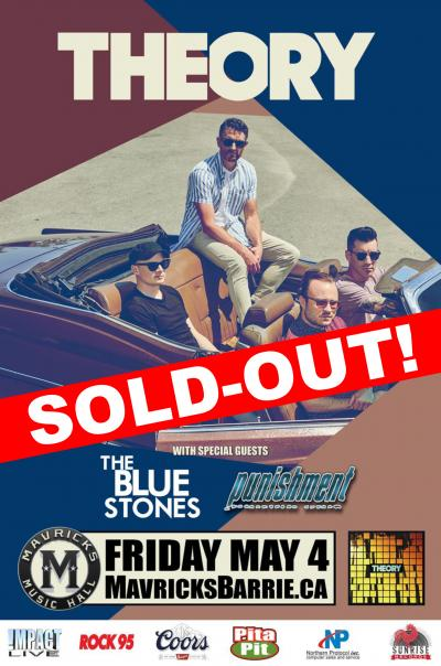 THEORY Of A Deadman SOLD-OUT!