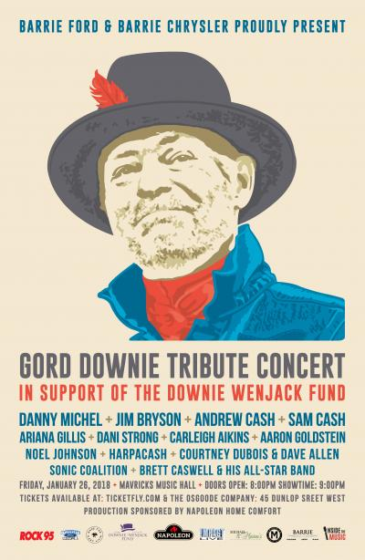 GORD DOWNIE Tribute Concert